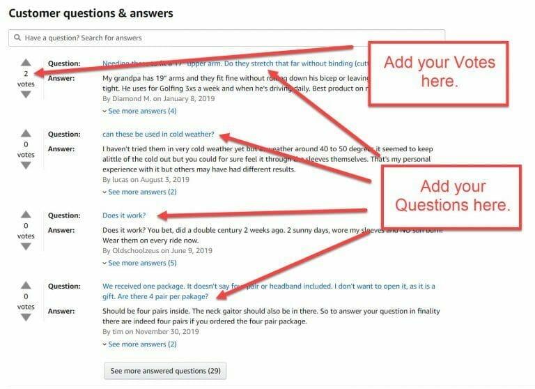 Question Upvotes